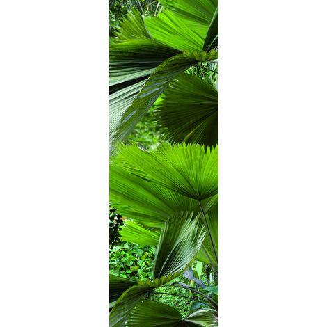 PLAGE 162202 Adesivo per frigorifero-Tropicale, 180 x 59,5 cm