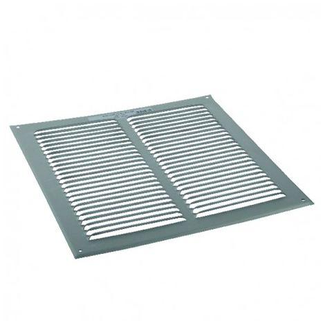 Plain aluminium ventilation grille - ANJOS : 6805