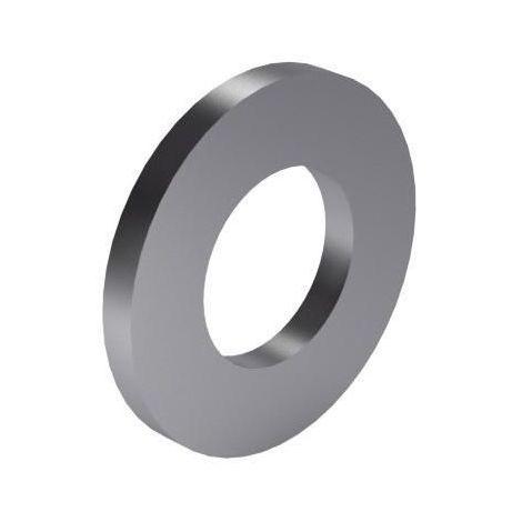 Plain washer DIN 125-1A Steel 140HV Zinc plated