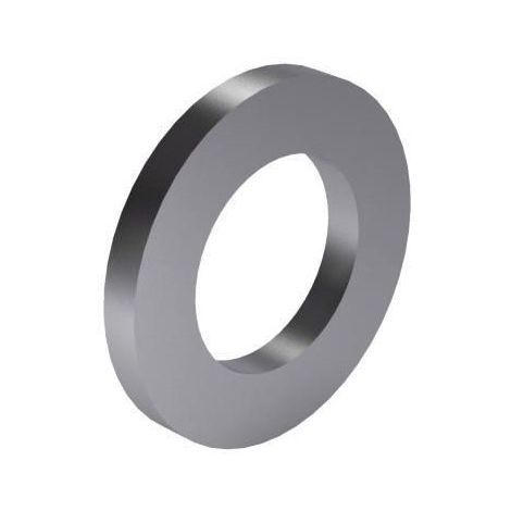Plain washer for cheese head screws DIN 433-1 Steel Zinc plated 140 HV