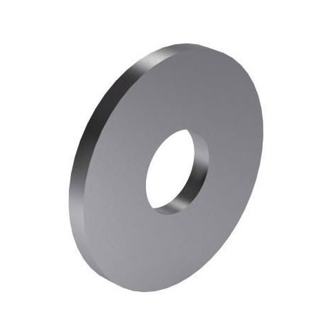 Plain washer with outside diameter ≈ 3 x nominal thread diameter DIN 9021 Steel Zinc plated large pack