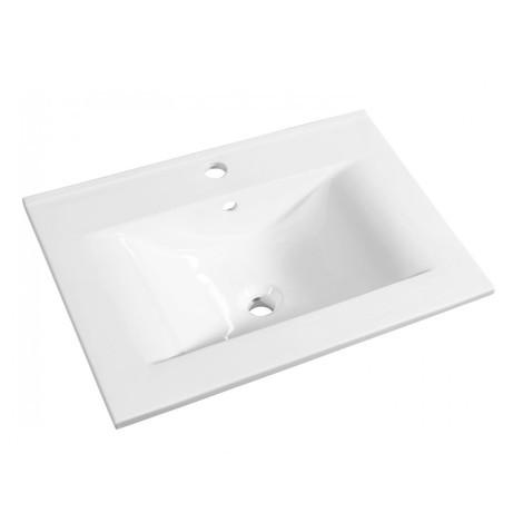 Plan ceramique first 80 blanc
