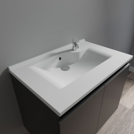 Plan simple vasque design RÉSILOGE - 70 cm