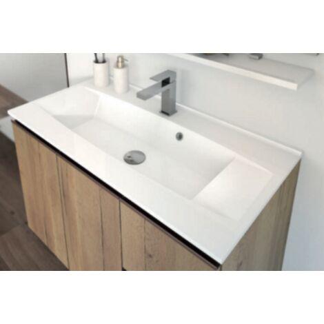 Plan vasque Prag - Synthese fin Aquance 60cm