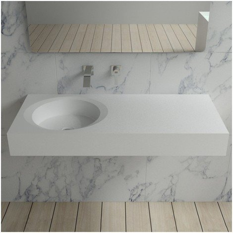 Plan vasque solid surface Réf : SDBK800