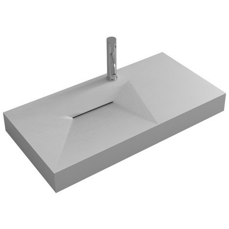 Plan vasque solid surface Réf : SDWD38427