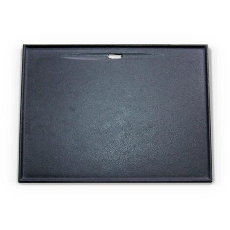 Plancha accessoire grille pour barbecues ALBERT et Bazin 4 en fonte émaillée