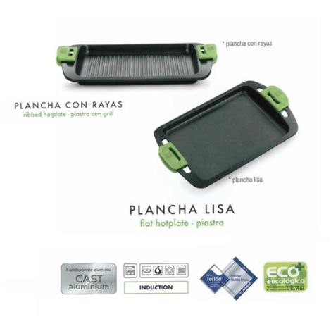 Plancha Asar Lisa Prior 40 Cm.