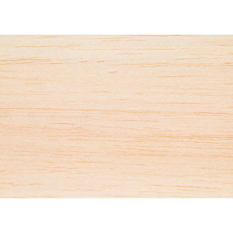 Plancha balsa de 1 m de largo, 10 cm de ancho y 1.5 mm de grueso R.Agulló