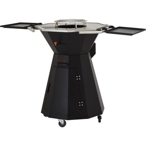 Plancha, Barbecue et Brasero à bois - BRASERO - Le Premium - Surface Plancha de 3126 cm2 - Grill central de 796cm2