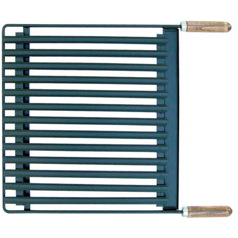 Plancha de acero inoxidable rectangular
