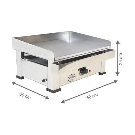 Plancha électrique - AutoGas - 500 x 300 x 240 mm