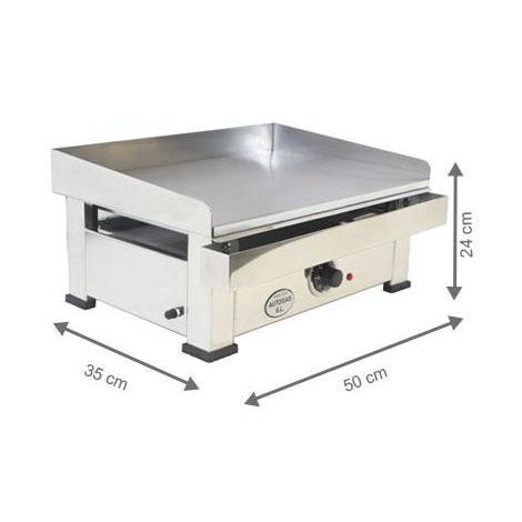 Plancha électrique - AutoGas - 500 x 350 x 240 mm