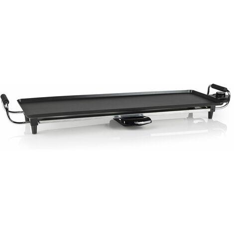 Plancha électrique de table Teppan Yaki XL - Thermostat réglable - 70 x 23 cm - Noir