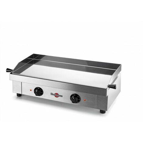 plancha électrique inox 2x1600w 64x34cm - gecif2ao - krampouz