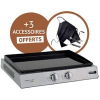 Plancha Finesta 63 + 3 accessoires offert - Cook'in Garden