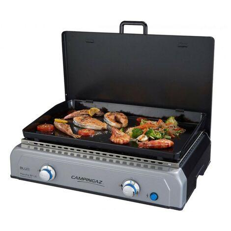 Plancha gaz Barbecue CAMPINGAZ BFLX 6KW Brûleurs Blue Flame Allumage électronique Surface cuisson 66x42 cm