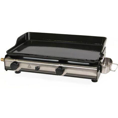 Plancha gaz SOMAGIC BIARRITZ 2 brûleurs 60 x 37 cm