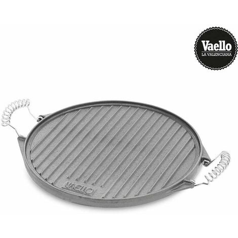 "main image of ""VAELLO Plancha hierro fundido redonda ø43cm. vaello"""