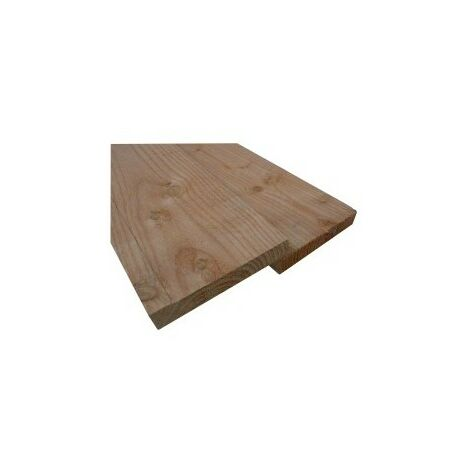 Planche 27x200 Douglas Naturel Choix 2-3 Brut 3M