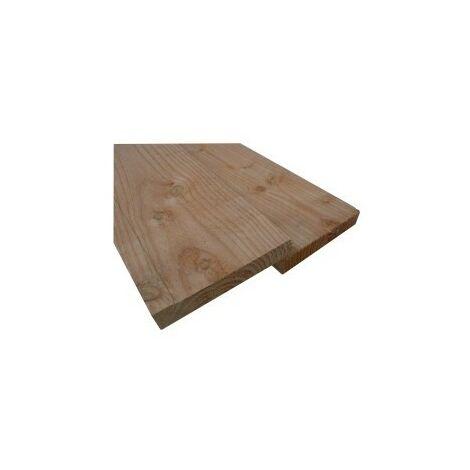 Planche 27x200 Douglas Naturel Choix 2-3 Brut 4M