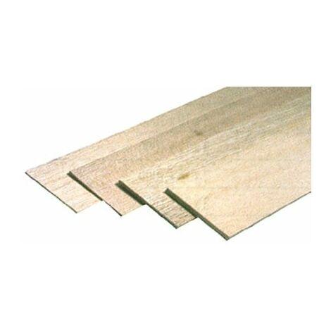 Planche balsa épaisseur 20 x100x1000 mm