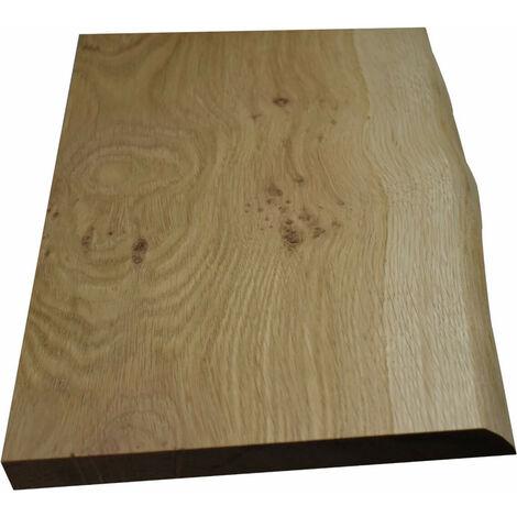Planche chêne massif authentique 80 X 19