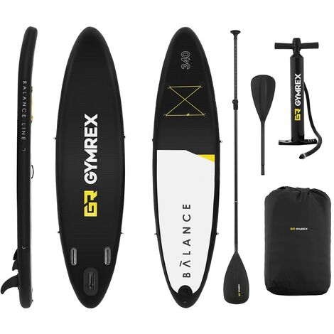 Planche De Paddle Gonflable Kit Complet Stand Up Board 335 X 79 X 15 Cm + Pagaie