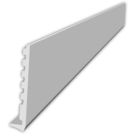 Planche de rive cellulaire 4M Blanc