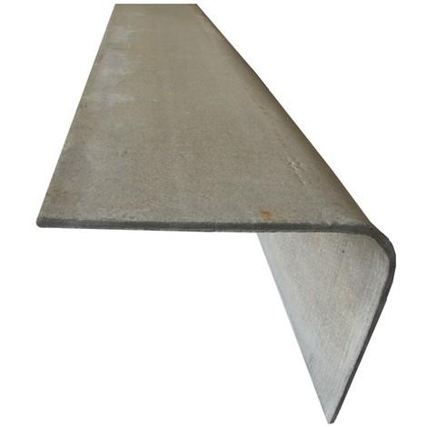 Planche de rive toiture fibrociment - Coloris - Gris, Epaisseur - 30cm, Largeur - 30 cm, Longueur - 2 m