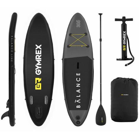 Planche de sup stand up paddle gonflable board planche de surf gonflable tapis EVA 135 kg - 305 x 79 x 15 cm
