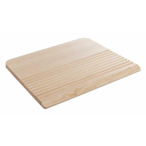 Planche pour laver le linge en pin 52 x 45 cm - épaisseur 2,2 cm