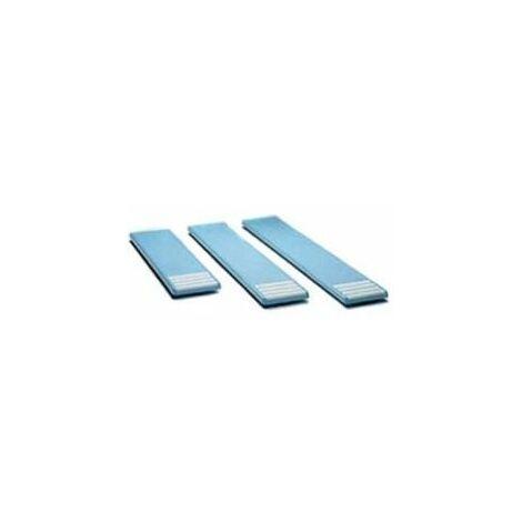 Planche seule 2.00x0.40 m bleu pâle non percée
