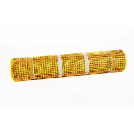 Plancher chauffant électrique rayonnant - 10 W/ml - pas de 18