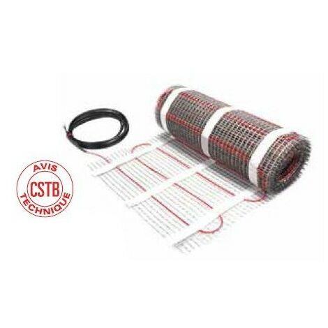 Plancher chauffant électrique spécial carrelage ECmat 85T PRE - 85W/m² - 1015W - 160.5ML - 12.0m²