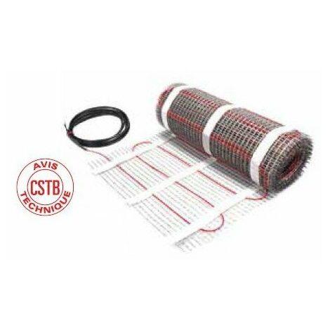 Plancher chauffant électrique spécial carrelage ECmat 85T PRE - 85W/m² - 400W - 62.5ML - 4.7m²