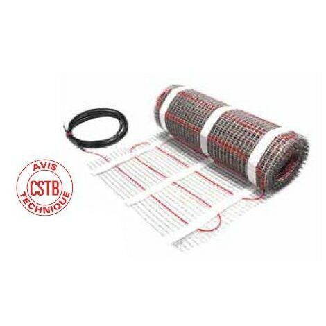 Plancher chauffant électrique spécial carrelage ECmat 85T PRE - 85W/m² - 910W - 147.5ML - 10.7m²