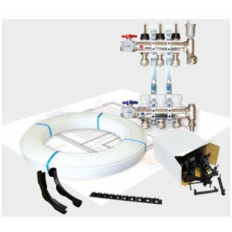 Plancher chauffant hydraulique Omegapack01 - 1 tube PER PAB - ø 16/1.5mm -
