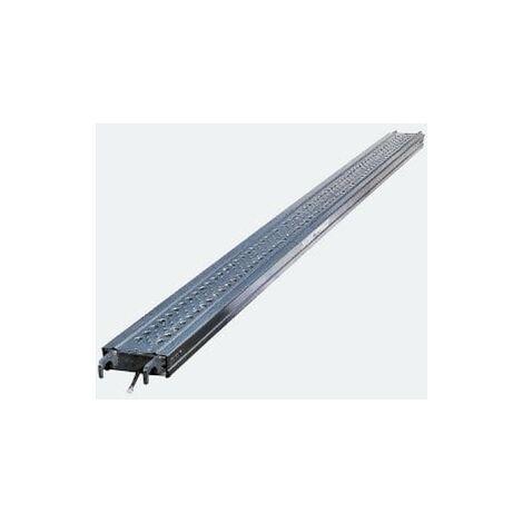 Plancher d'échafaudage acier de 18cm de large (plusieurs tailles disponibles)