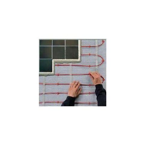 Plancher rayonnant électrique pour construction neuve - T2 red - 1000W
