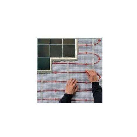 Plancher rayonnant électrique pour construction neuve - T2 red - 1100W