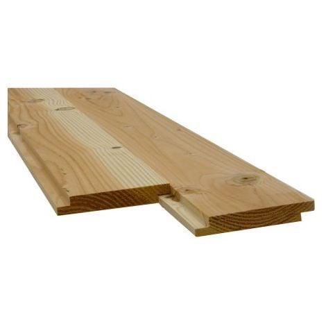 Plancher/Sous toiture Mi-Bois Douglas 2nd Choix 22x135mm 3m