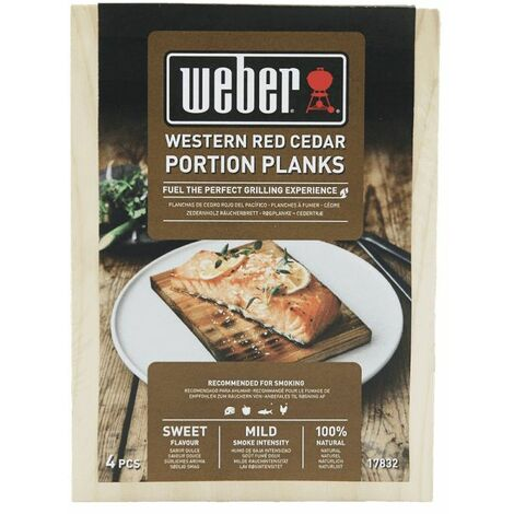 Planches individuelles Western Red Cedar-weber