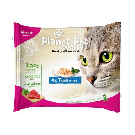 Planet Pet Gato Pouch Pack Atun 4x50gr
