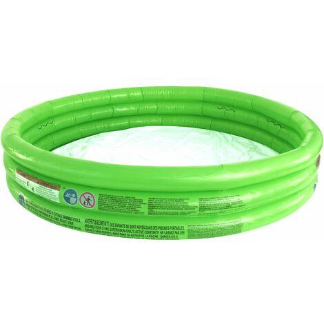 Planschbecken BESTWAY grün 3 Ring 152 x 30 cm Kinder Pool