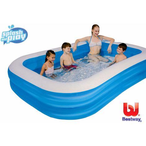 Planschbecken FAMILY Pool rechteckig 262 x 175 cm Bestway
