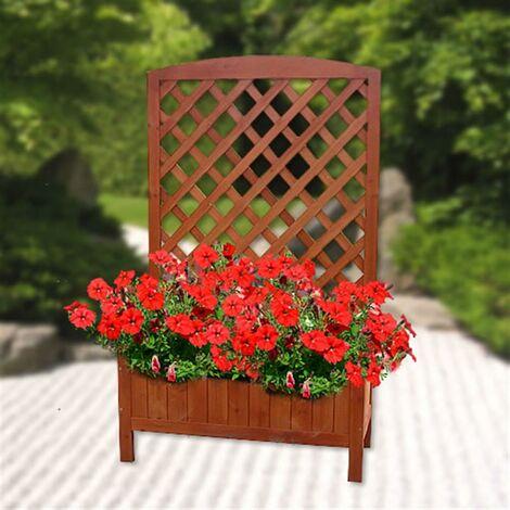 Plant box with trellis - cheap