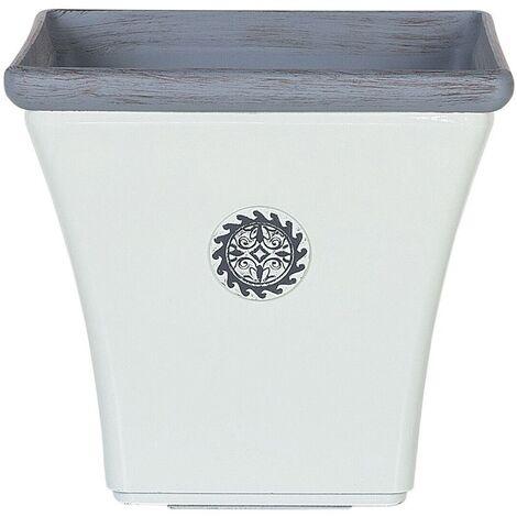 Plant Pot 32 x 32 x 31 cm White ELATEIA