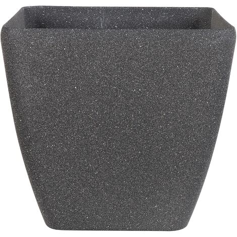 Plant Pot 34 x 34 x 34 cm Grey ZELI