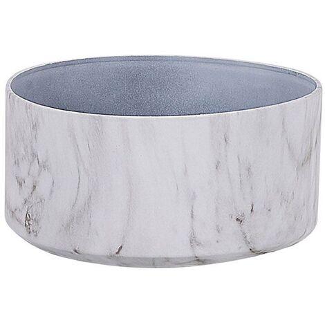 Plant Pot ⌀ 35 cm Marble Effect VALTA